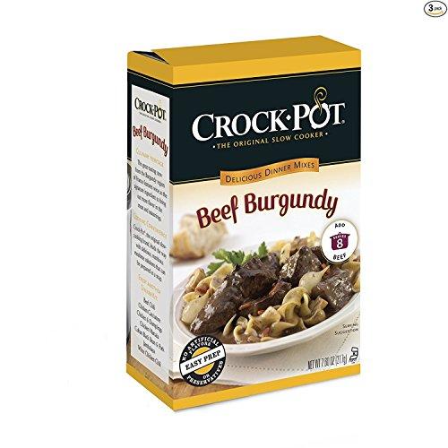 Crock Pot Beef Burgundy Dinner Kit, Pack of (Beef Burgundy Sauce)