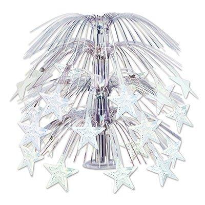 Beistle 50553-S Star Cascade Centerpiece Party Supplies, Multicolor ()