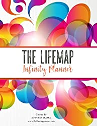 The LIFEMAP Infinity Planner (Black & White): Life, Business and Dream Planning System