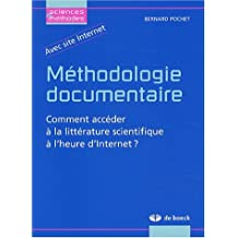 Méthodologie documentaire sciences & methodes