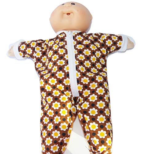 Brown Sunflower Pajamas fits Bitty Baby or Cabbage for sale  Delivered anywhere in USA