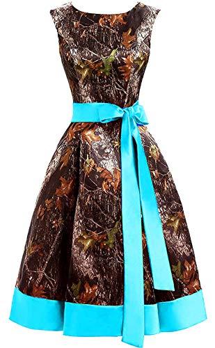 Chupeng Women's Appliques Camouflage Prom Dress Satin Wedding Bridal Dresses Short Homecoming Dress 2019