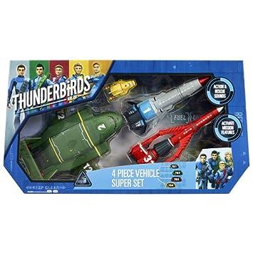 Thunderbirds Are Go Les Sentinelles De L'air Set 4 Véhicules