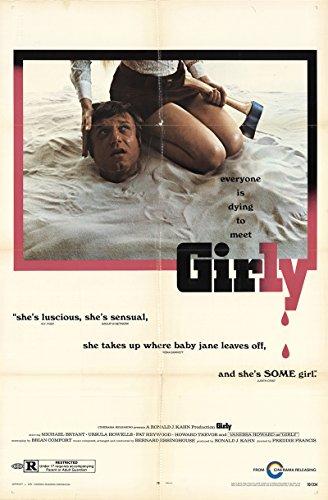 "Girly 1970 Factual 27"" x 41"" Original Movie Poster Fine, Very Good Pat Heywood Horror U.S. One Sheet"
