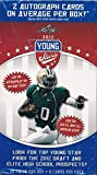 2012 Leaf Football Young Stars HUGE 20 Pack Factory Sealed Box with 2 AUTOGRAPHS! Look for Rookie Cards & Autographs of Russell Wilson, Andrew Luck,Robert Griffen & all the Top 2012 NFL Draft
