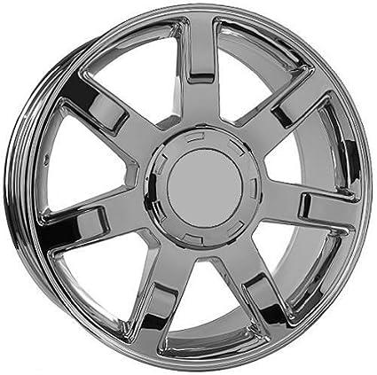 amazon 24 chrome wheels rims for cadillac escalade yukon set 2015 Cadillac Escalade 24 quot chrome wheels rims for cadillac escalade yukon set of four included