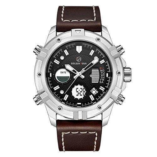 Fashion-Luxury-Brand-Men-Waterproof-Digital-Analog-Military-Sports-Watches-Mens-Quartz-Brown-Leather-Wrist-Watch