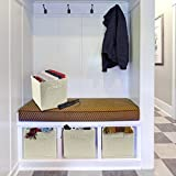 Sorbus Foldable Storage Cube Basket Bin, 6