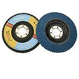 "Flap Disc 40 Grit 4.5"" x 7/8"",T29 Zirconia Abrasive"