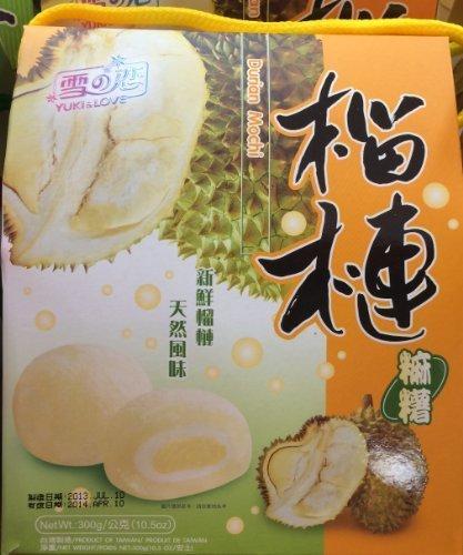 2 x 10.5 Yuki & Love Japanese Rice Cake Mochi Durian by Yuki & Love