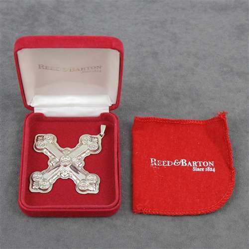 2007 Christmas Cross Sterling Ornament by Reed & Barton Reed & Barton Christmas Cross