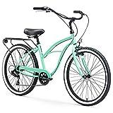 sixthreezero Around The Block Women's 7-Speed Beach Cruiser Bicycle,...