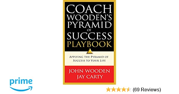 Coach Woodens Pyramid Of Success Playbook John Wooden Jay Carty