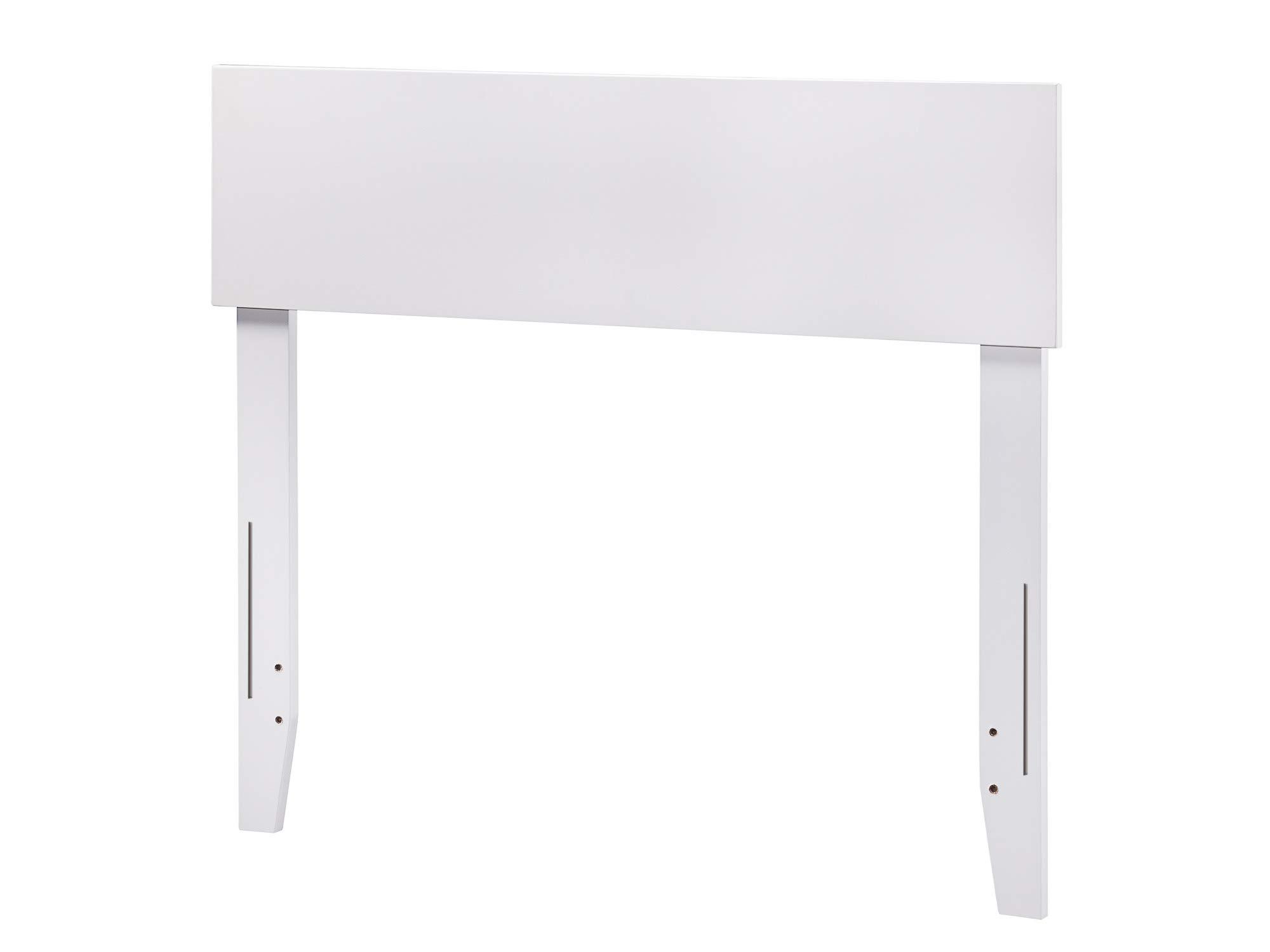 Atlantic Furniture AR281822 Orlando Headboard, Twin, White by Atlantic Furniture