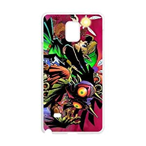 Printed Cover Protector Samsung Galaxy Note 4 N9108 Cell Phone Case White Majora's Mask Kqioh Printed Cover Protector