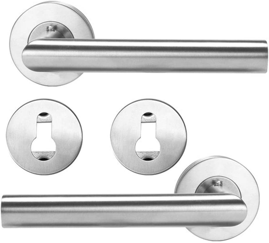 Color : PZ 1 Pcs Handle Door Sliding Interior Door Handles Household Accessories Entrance Gate Lever Knob for Bedroom Bathroom