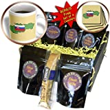 777images Flags and Maps - The map and flag of Slovakia with the Slovak Republic printed in both English and Slovakian. - Coffee Gift Baskets - Coffee Gift Basket (cgb_39223_1)