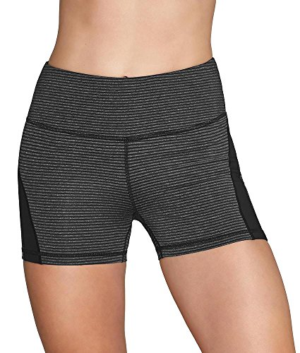 Heather Short Stripe Black Mujer Klein Para Calvin qwTtBgIW