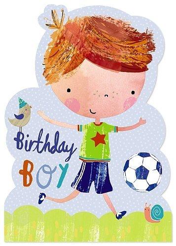 Batiburrillo tarjeta de felicitación - cumpleaños Niño ...