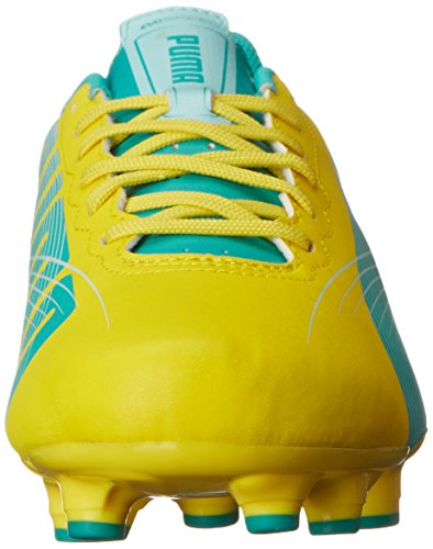 2 Cleat Women's Green Evospeed Ground 4 Firm Soccer Light PUMA Spectra Yellow Blue Vibrant R0tAqCwxC