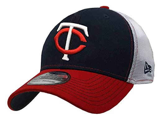 timeless design 9b6a1 ea39a New Era 2019 39Thirty MLB Minnesota Twins Practice Piece Hat Cap Flex Fit  (S
