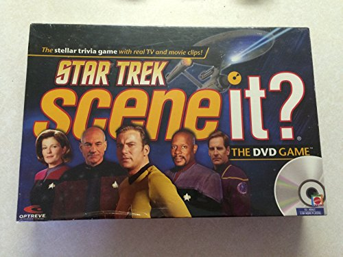 (Mattel Star Trek Scene It? DVD Game with Real TV and Movie Clips)