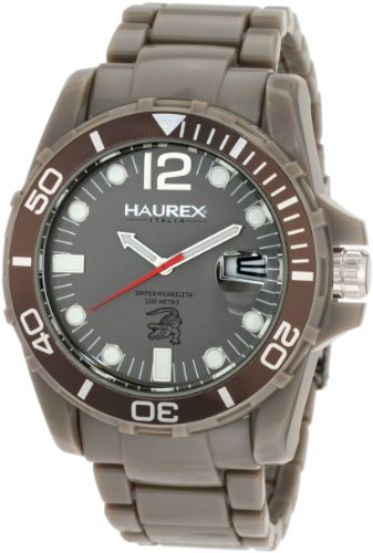 Haurex Italy Men's G7354UGG Caimano Grey Sport Watch by Haurex