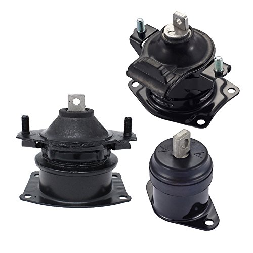 Engine Motor Mount Set of 3 for 2004 2005 2006 Acura TL 3.2L fit Automatic