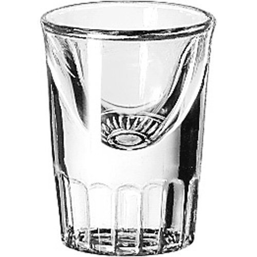 Libbey Tall Whiskey - Libbey 5138 Whiskey Service 1 Ounce Tall Whiskey Glass - 48 / CS