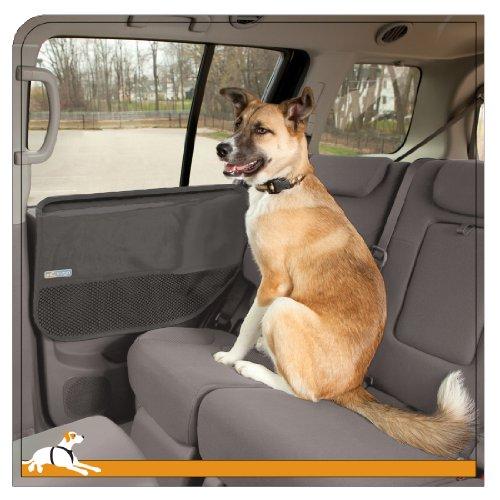 Kurgo Car Door Guard Car Protection from Dogs, Charcoal Grey