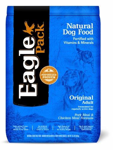 - Eagle Pack Natural Pet Food, Original Adult Pork Meal And Chicken Meal Formula For Dogs, 15-Pound Bag