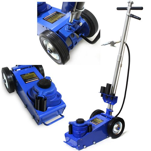 XtremepowerUS Heavy duty 22 Ton Air Hydraulic Floor Jack