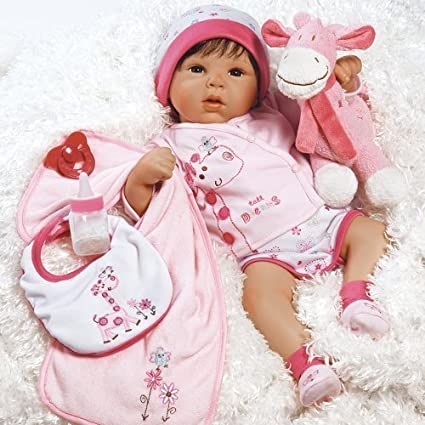 Amazoncom Paradise Galleries Lifelike Realistic Baby Doll Tall - Look like real baby animals actually incredibly realistic toys