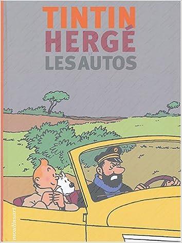 tintin herg les autos fr french edition