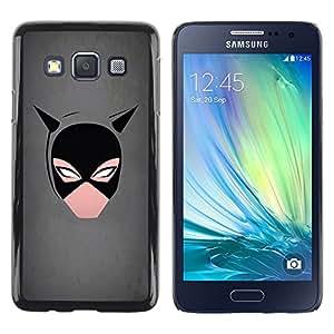 "For Samsung Galaxy A3 , S-type Minimalista Cat Girl"" - Arte & diseño plástico duro Fundas Cover Cubre Hard Case Cover"