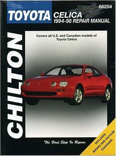 toyota celica 1994 98 chilton total car care series manuals rh amazon com 1995 Toyota Celica 1996 Toyota Celica