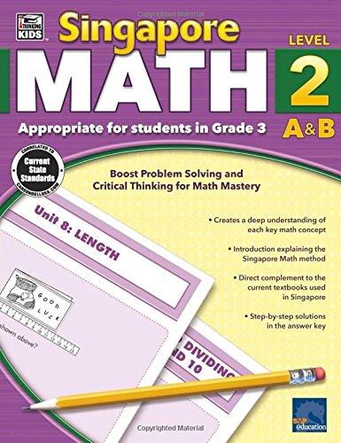 Singapore Math, Grade 3 (Math Singapore)