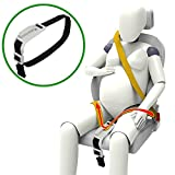 ZUWIT Bump Belt, Maternity Car Belt Adjuster, Comfort & Safety for Pregnant Moms Belly, Protect Unborn Baby, a Must-Have for Expectant Mothers - White