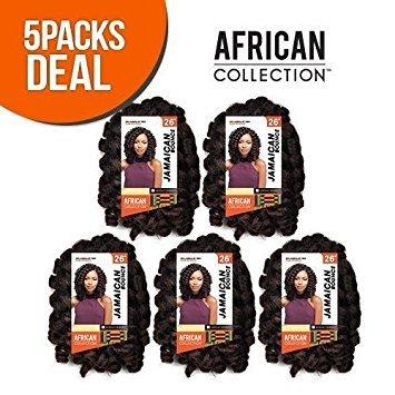 Bounce Appliances - [5PACKS DEAL] SENSATIONNEL JAMAICAN BOUNCE 26
