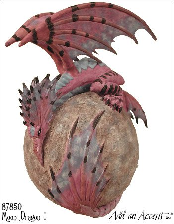 Moon Dragon I Fairy Diva Based On Amy Brown Art Work