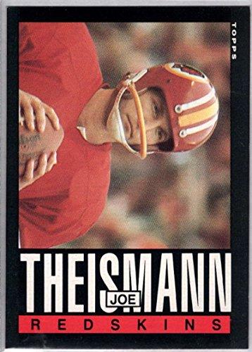 Football NFL 1985 Topps #190 Joe Theismann (Joe Theismann Football)