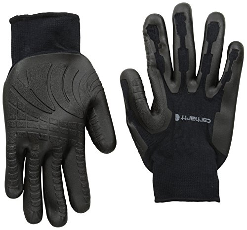 Carhartt Men's Ergo Pro Palm Glove, black, Medium
