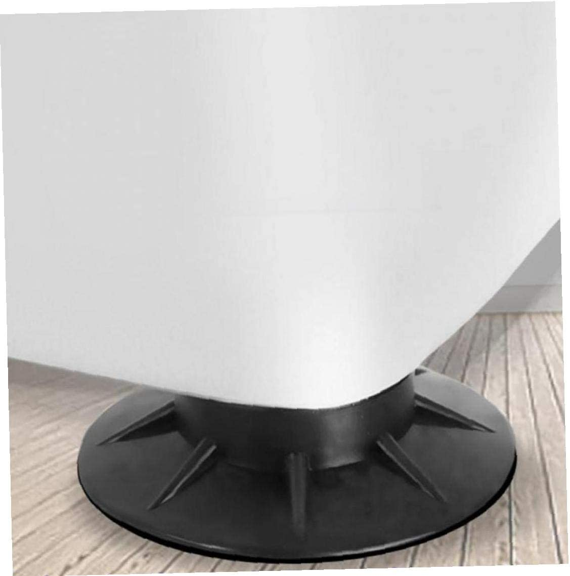 Bontand 4 Pcs Floor Mat Elasticity Furniture Anti Vibration Protectors Rubber Feet Pads for Refrigerator Chair Cushion Pad Furnitures Anti Slip Pad