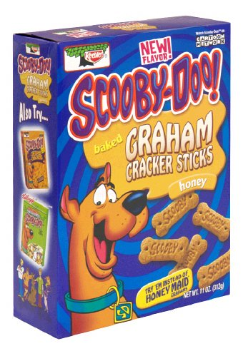 - Keebler Baked Graham Cracker Sticks, Scooby-Doo!, Honey, 11-Ounce Boxes (Pack of 6)