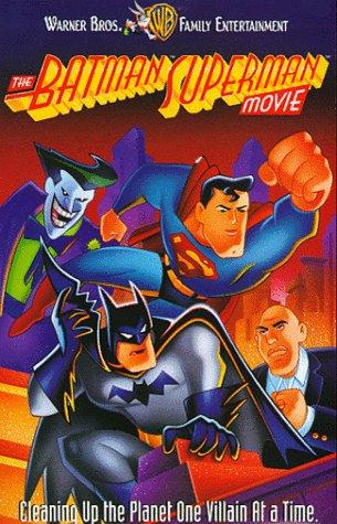 The Batman Superman Movie  [VHS]