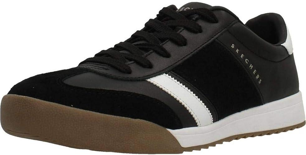 Skechers Herren Sneaker Low Zinger SCOBIE schwarz40 2IRly
