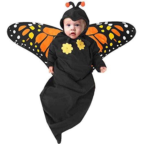 Newborn Baby Butterfly Halloween Costume (3-6M) ()