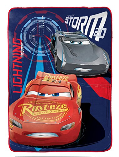Disney/Pixar CARS 3 - Details & Downloadable Activity Sheets #Cars3 - Disney/Pixar Cars 3 High Tech Twin Blanket, 62