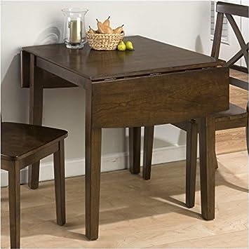 Amazon.com: Bowery Hill doble gota hoja mesa de comedor en ...
