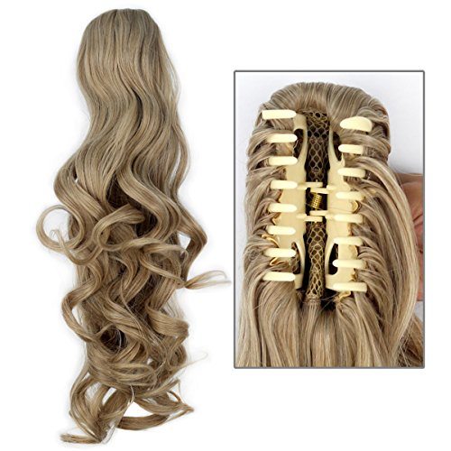 Girls Ponytail Extensions Hairpiece blonde product image
